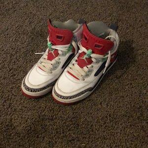 Jordan colab shoe.